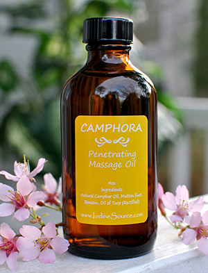 Camphora Massage Oil